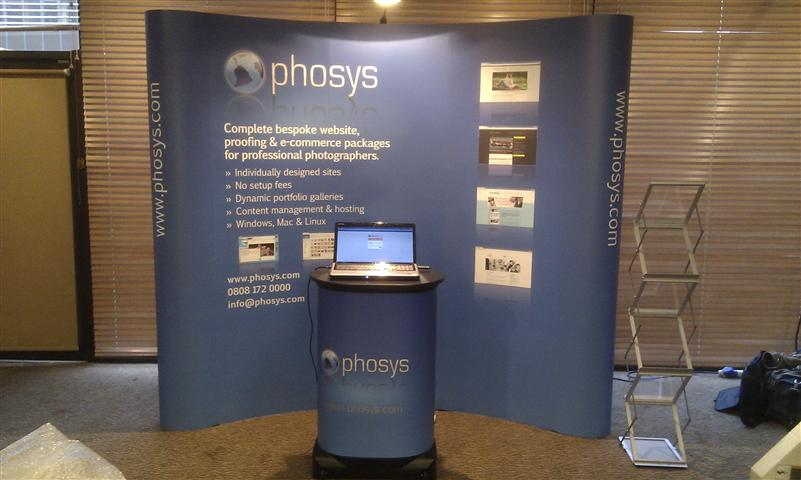Phosys Popup Stand 2011